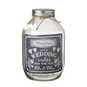 Wedding Wishes Jar