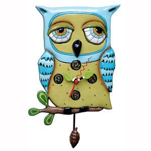 Klok Old Blue Owl