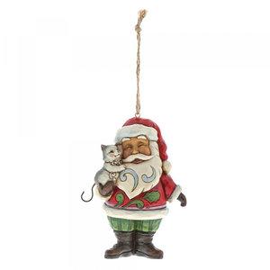 Mini Santa with Cat